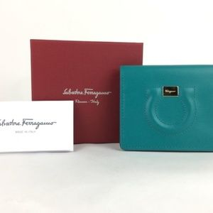 Salvatore Ferragamo Gancini Credit Card Case